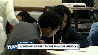 Community leader providing free financial literacy classes