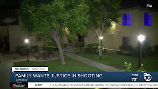 Carlsbad family wants justice in shooting