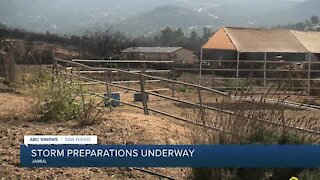 Storm preparations underway in San Diego County
