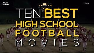 10 Best High School Football Movies