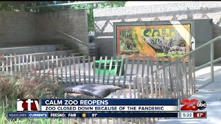 California Living Museum reopens