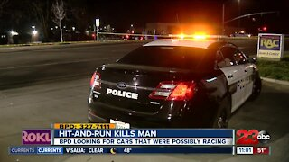 Pedestrian killed after being struck by a car in Bakersfield