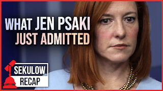 Jen Psaki Admits What the Biden Admin Is Really Doing