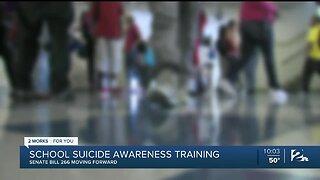 Senate Passes School Suicide Awareness Training