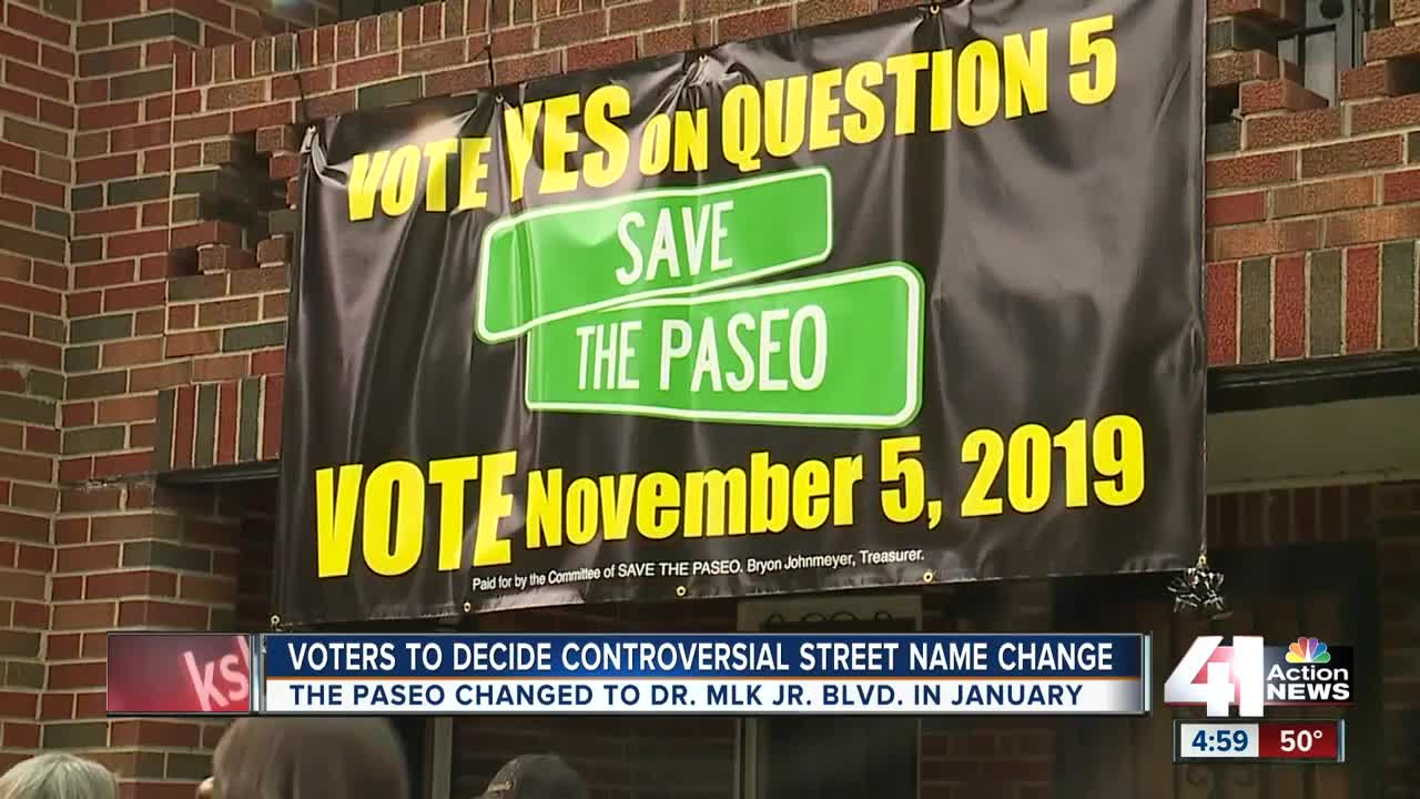 Voters to decide controversial street name change