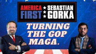 Turning the GOP MAGA. Raheem Kassam with Sebastian Gorka