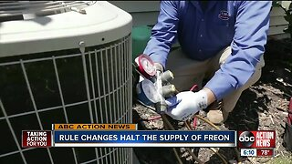 If your A/C uses freon, expect skyrocketing prices. The refrigerant will soon be discontinued