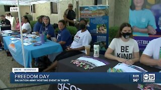 Salvation Army hosts event for Juneteenth