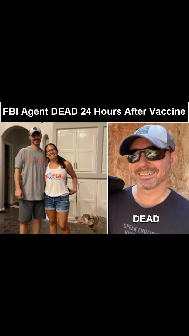45-Year-Old FBI Special Agent Dies Less Than 24 Hours After Receiving The Pfizer COVID-19 Vaccine