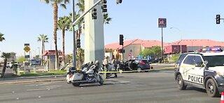 Fatal crash near Flamingo Road and Durango Drive