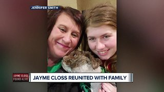 Jayme Closs reunited with family after 88 days missing