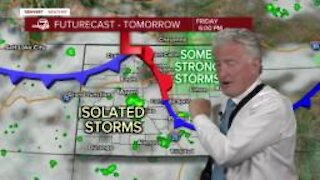 Thursday, June 17 evening forecast