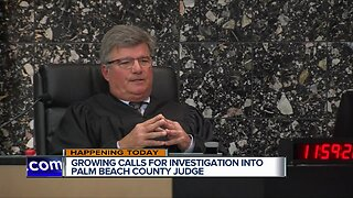 Lawmakers to call for disciplinary action against Palm Beach County judge