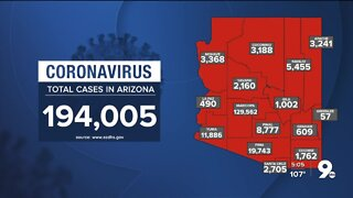 468 new cases of COVID-19, 0 new deaths in Arizona