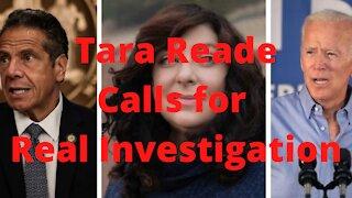 Tara Reade Calls for Investigation into Biden