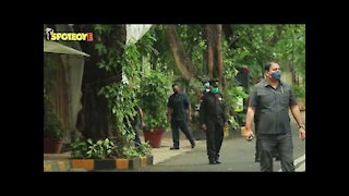 Spotted: Amitabh Bachchan On His 78th Birthday Outside His House | SpotboyE