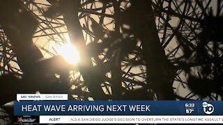 Firefighters prepare for next week's heat wave