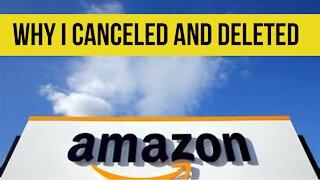 I delete Amazon live!