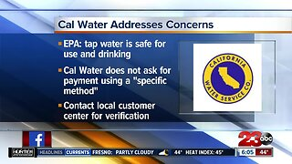 Cal Water warns about scams