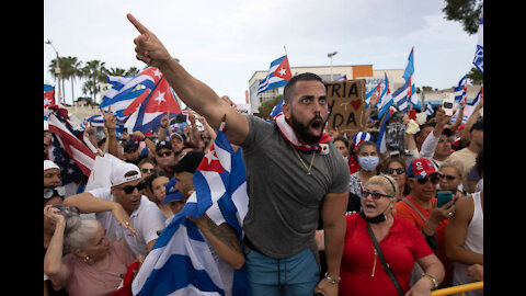 CUBANS REVOLT - The people, the Pope, and the hope for freedom