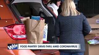 Resurrection Life Food Pantry implements drive-thru system