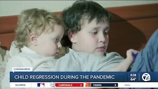 Childhood regression during the pandemic: What to watch for and how you can help