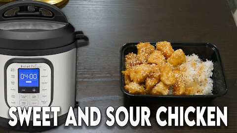 Instant Pot Wednesday: Sweet & Sour Chicken