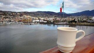 Ensenada Mexico from the cruise port
