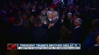 Robert Trump died