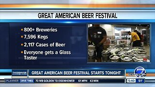 How much beer will be at Great American Beer Festival?