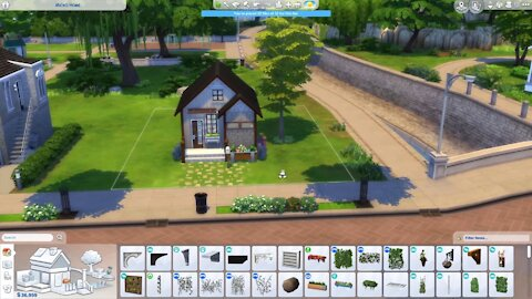 Building a Micro Home in the Sims 4