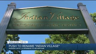 Resident pushes to rename Detroit's historic Indian Village
