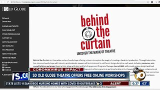 Old Globe offers free workshops