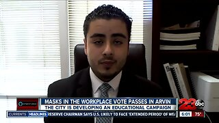 Arvin mayor discusses face covering requirement