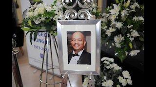Funeral service of Songezo Mjongile