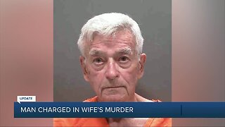 Sarasota County man charged with murder after wife's death