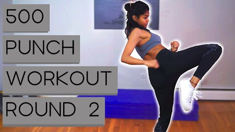 Cardio Kickboxing Home Workout(ROUND 2)