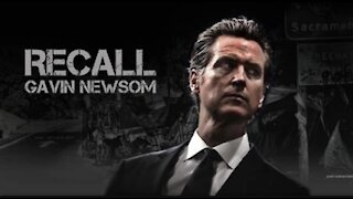 Newsom Recall Leader Says Over 1.5 Million Signatures to Force a Recall Election This Year.