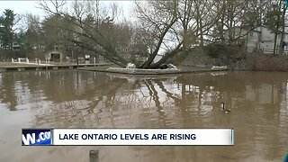Lake Ontario water levels are rising