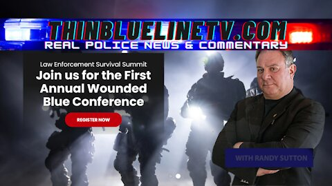 Support The Police? Meet The Wounded Blue Foundation
