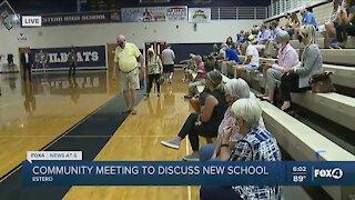 Lee County School District discussing new school in Estero