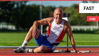 Athlete holds the title of being the fastest 84-year-old in the world