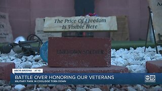 Battle over honoring our veterans
