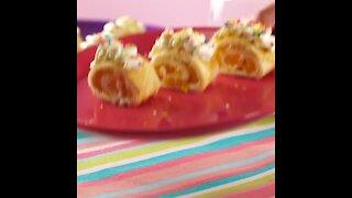 Confetti Crepes rolls