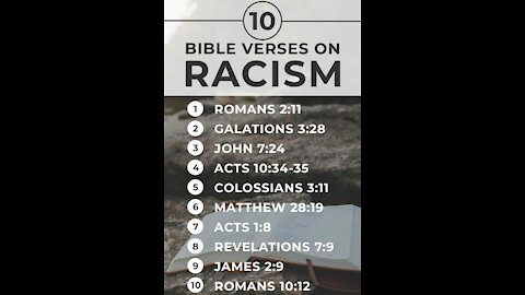 FALSE RACIST CHRISTIAN IDENTITY DOCTRINE DEBUNKED WITH 1 VERSE!