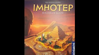 Imhotep Board Game Review