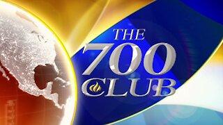 Host Chuck Holton on The 700 Club