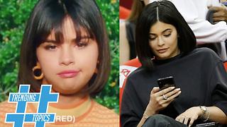 Kylie Jenner & Selena Gomez Rock The 2018 Summer Hair Trend! | Trending Topics