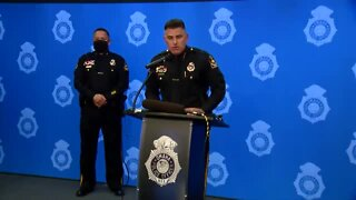 Omaha Police, Mayor Stothert hold press conference following Friday protest