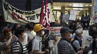Protesters Want Tokyo Olympics Canceled
